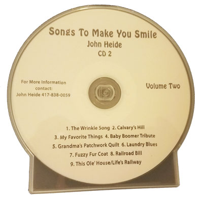 Songs to make you smile cd 2