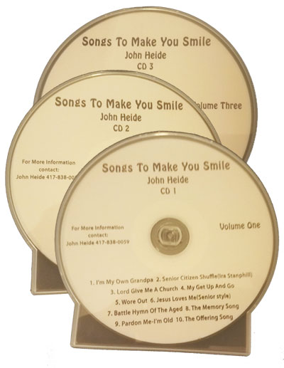 Songs to make you smile John Heidi