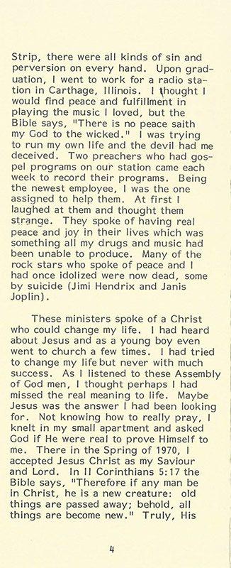 From a DJ to a Gospel Preacher