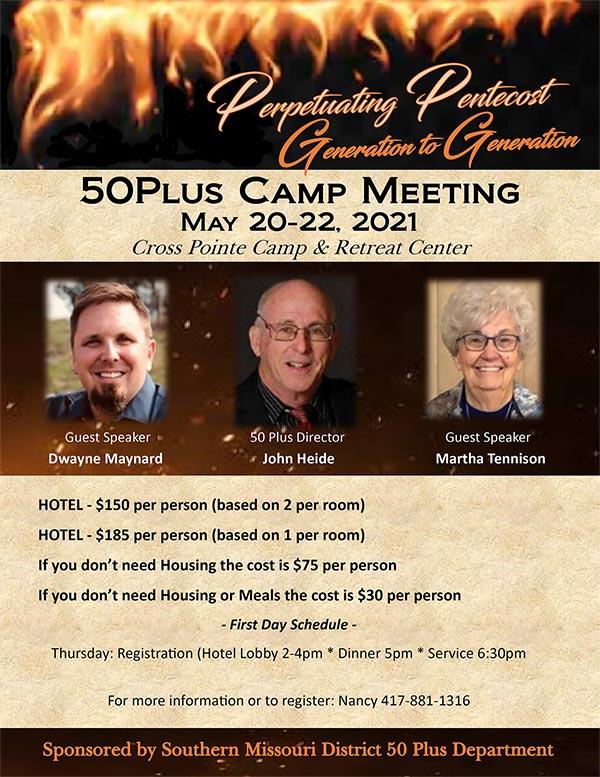 50Plus Camp Meeting